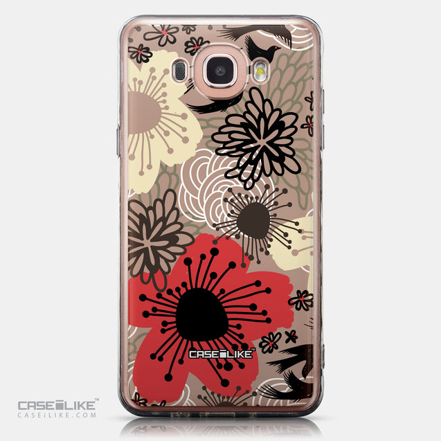 CASEiLIKE Samsung Galaxy J7 (2016) back cover Japanese Floral 2254