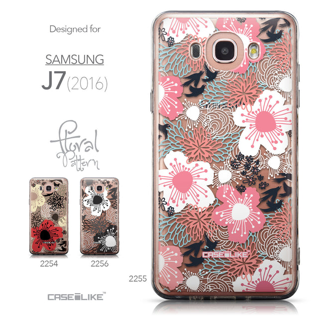 Collection - CASEiLIKE Samsung Galaxy J7 (2016) back cover Japanese Floral 2255