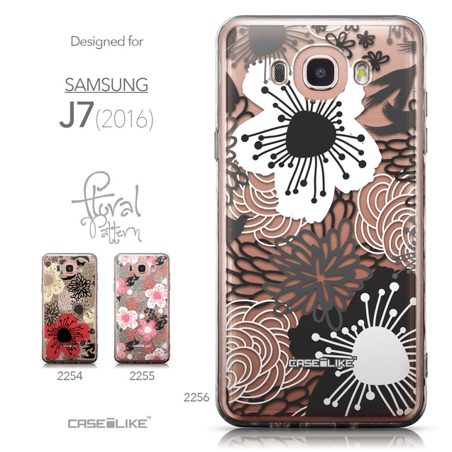Collection - CASEiLIKE Samsung Galaxy J7 (2016) back cover Japanese Floral 2256