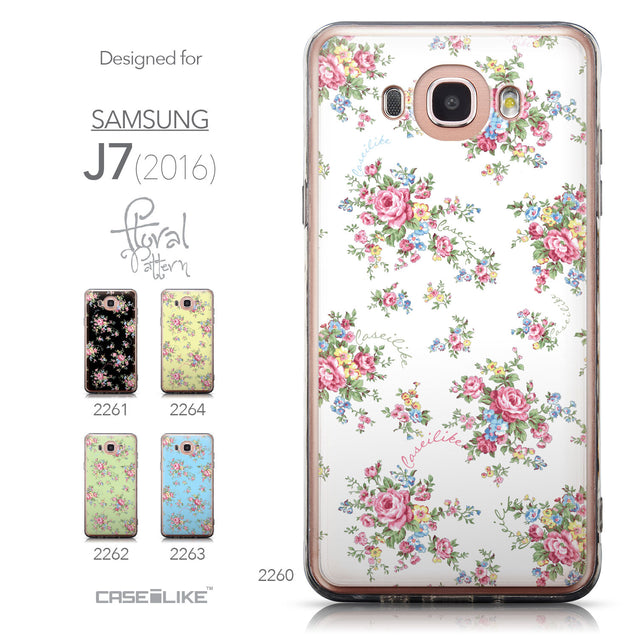 Collection - CASEiLIKE Samsung Galaxy J7 (2016) back cover Floral Rose Classic 2260