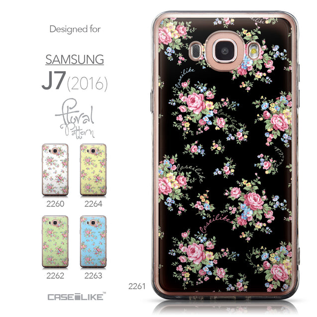 Collection - CASEiLIKE Samsung Galaxy J7 (2016) back cover Floral Rose Classic 2261