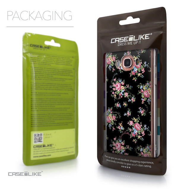 Packaging - CASEiLIKE Samsung Galaxy J7 (2016) back cover Floral Rose Classic 2261