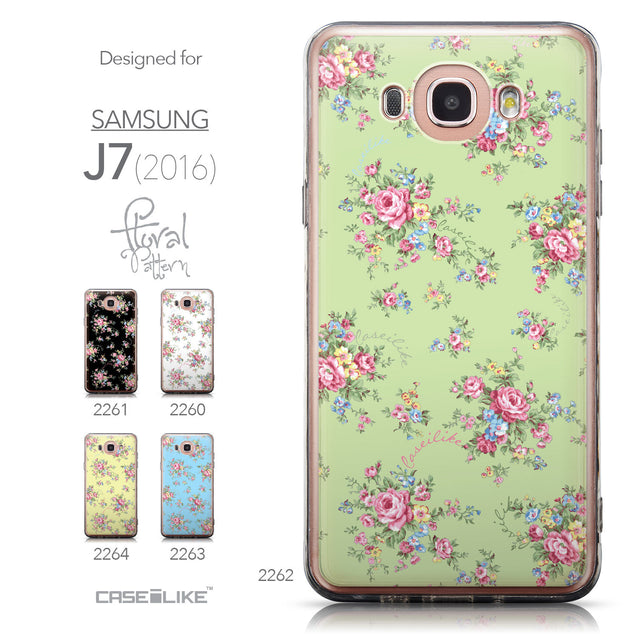 Collection - CASEiLIKE Samsung Galaxy J7 (2016) back cover Floral Rose Classic 2262
