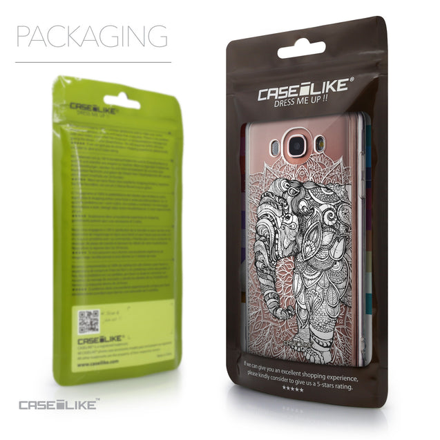 Packaging - CASEiLIKE Samsung Galaxy J7 (2016) back cover Mandala Art 2300