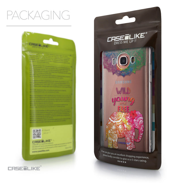 Packaging - CASEiLIKE Samsung Galaxy J7 (2016) back cover Mandala Art 2302