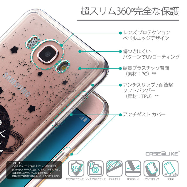 Details in Japanese - CASEiLIKE Samsung Galaxy J7 (2016) back cover Quote 2401