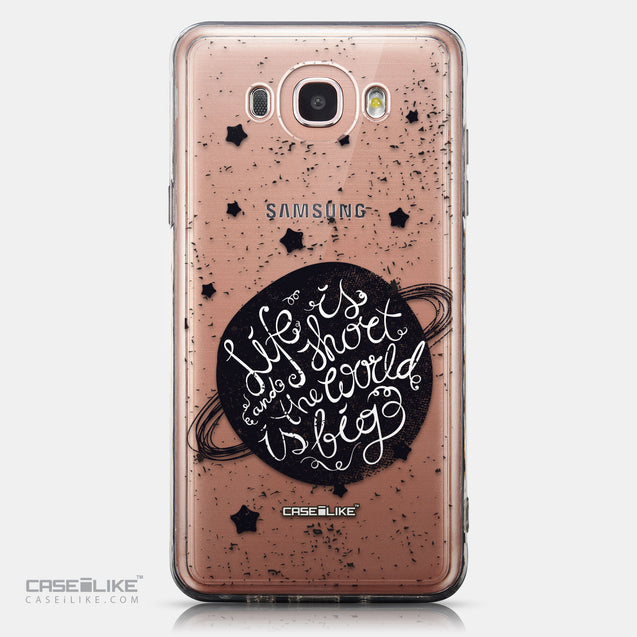 CASEiLIKE Samsung Galaxy J7 (2016) back cover Quote 2401