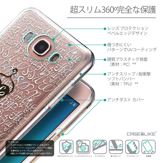Details in Japanese - CASEiLIKE Samsung Galaxy J7 (2016) back cover Indian Tribal Theme Pattern 2053