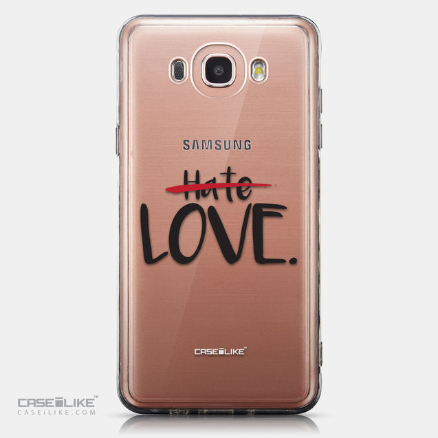 CASEiLIKE Samsung Galaxy J7 (2016) back cover Quote 2406