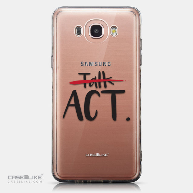 CASEiLIKE Samsung Galaxy J7 (2016) back cover Quote 2408