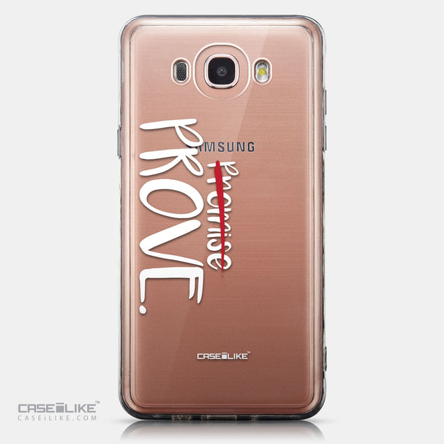 CASEiLIKE Samsung Galaxy J7 (2016) back cover Quote 2409