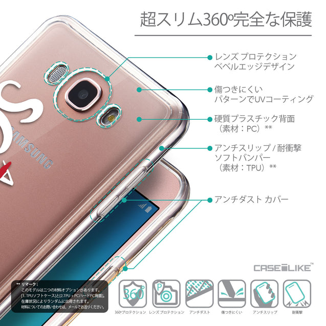 Details in Japanese - CASEiLIKE Samsung Galaxy J7 (2016) back cover Quote 2412