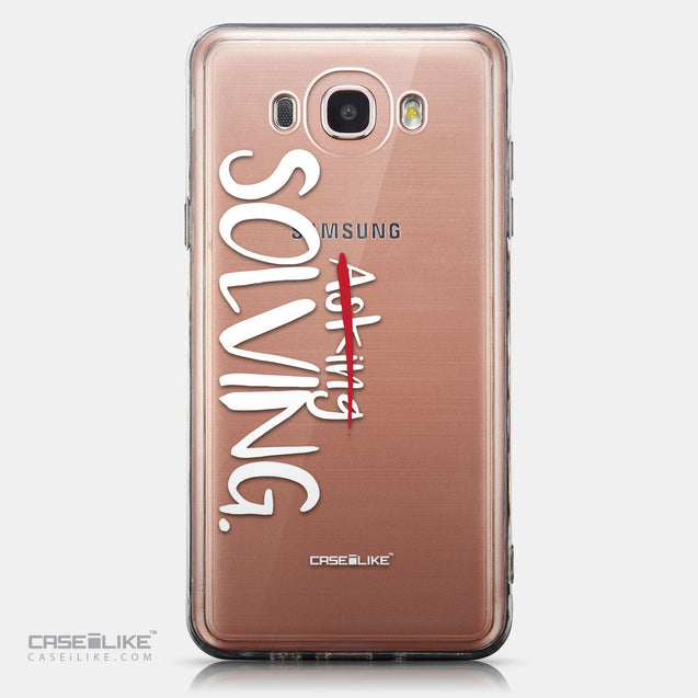CASEiLIKE Samsung Galaxy J7 (2016) back cover Quote 2412