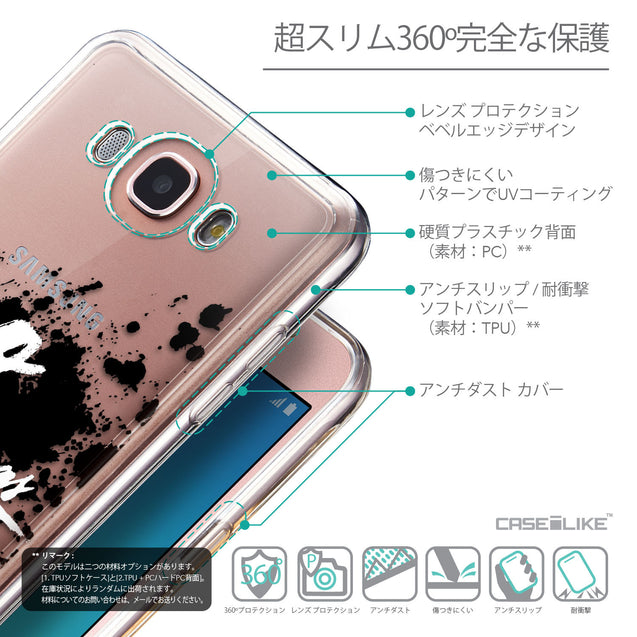 Details in Japanese - CASEiLIKE Samsung Galaxy J7 (2016) back cover Quote 2415