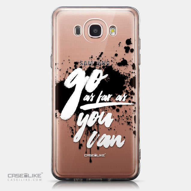 CASEiLIKE Samsung Galaxy J7 (2016) back cover Quote 2415