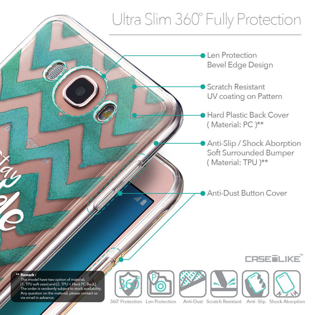 Details in English - CASEiLIKE Samsung Galaxy J7 (2016) back cover Quote 2418