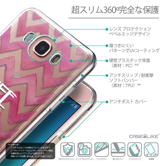 Details in Japanese - CASEiLIKE Samsung Galaxy J7 (2016) back cover Quote 2419