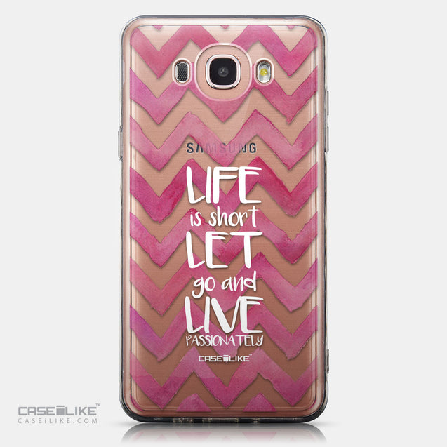 CASEiLIKE Samsung Galaxy J7 (2016) back cover Quote 2419
