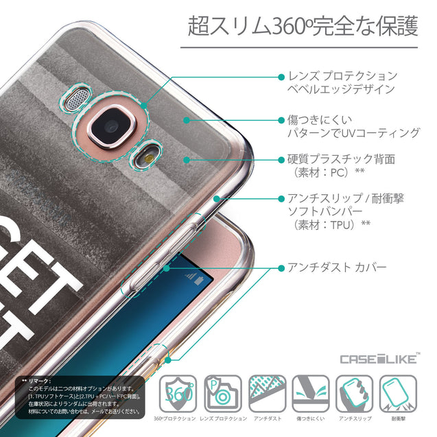Details in Japanese - CASEiLIKE Samsung Galaxy J7 (2016) back cover Quote 2429