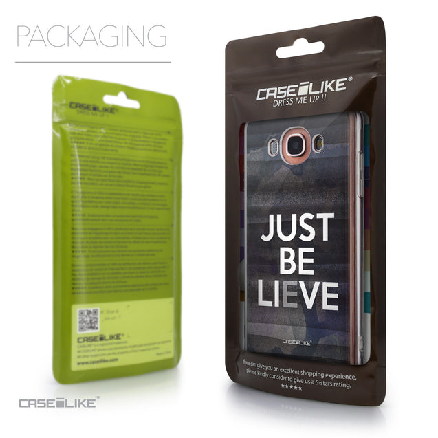 Packaging - CASEiLIKE Samsung Galaxy J7 (2016) back cover Quote 2430