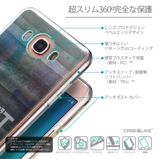 Details in Japanese - CASEiLIKE Samsung Galaxy J7 (2016) back cover Quote 2431