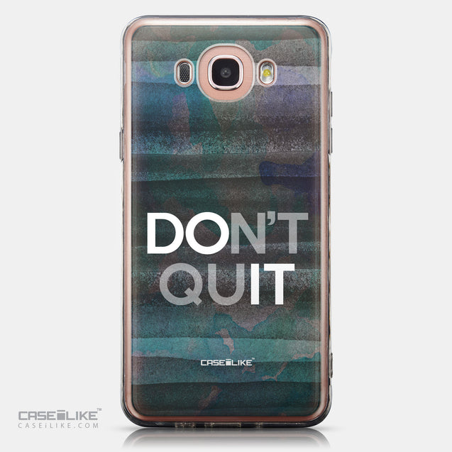 CASEiLIKE Samsung Galaxy J7 (2016) back cover Quote 2431