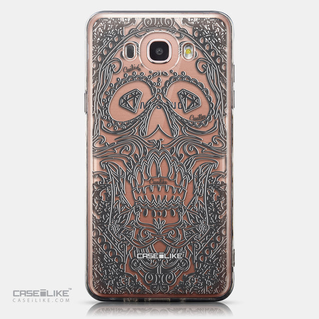 CASEiLIKE Samsung Galaxy J7 (2016) back cover Art of Skull 2524