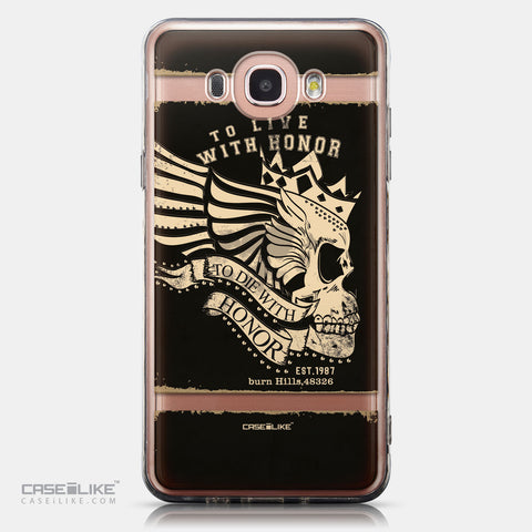 CASEiLIKE Samsung Galaxy J7 (2016) back cover Art of Skull 2529