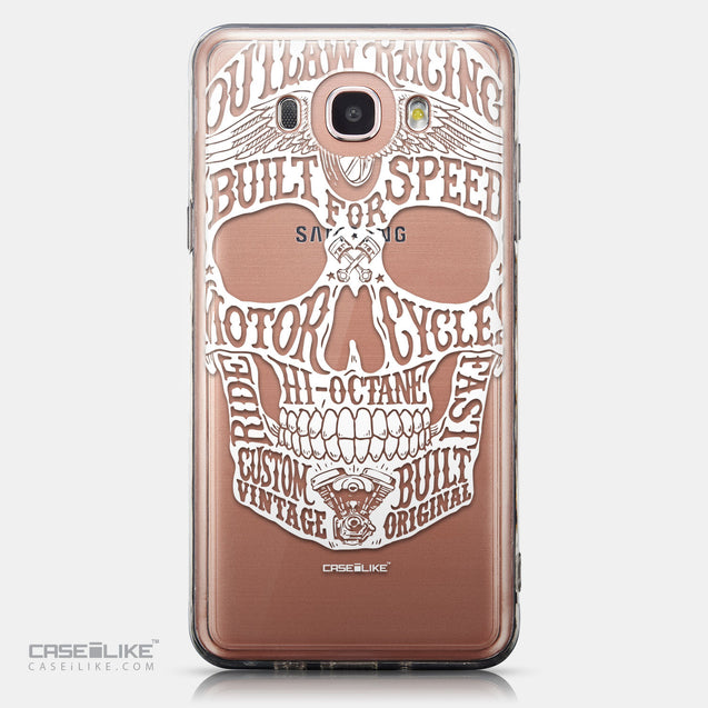CASEiLIKE Samsung Galaxy J7 (2016) back cover Art of Skull 2530