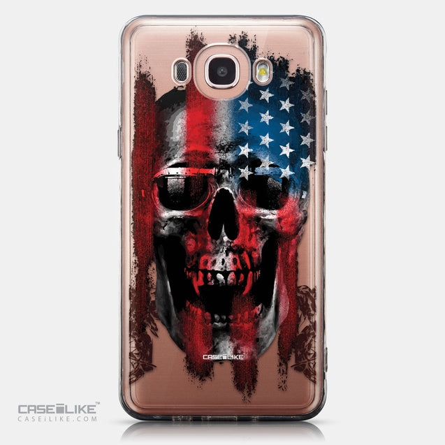 CASEiLIKE Samsung Galaxy J7 (2016) back cover Art of Skull 2532
