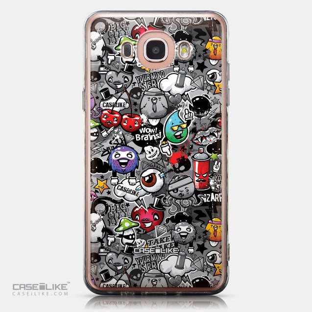CASEiLIKE Samsung Galaxy J7 (2016) back cover Graffiti 2709