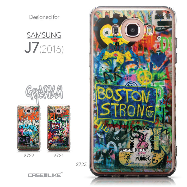 Collection - CASEiLIKE Samsung Galaxy J7 (2016) back cover Graffiti 2723