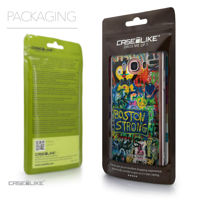 Packaging - CASEiLIKE Samsung Galaxy J7 (2016) back cover Graffiti 2723
