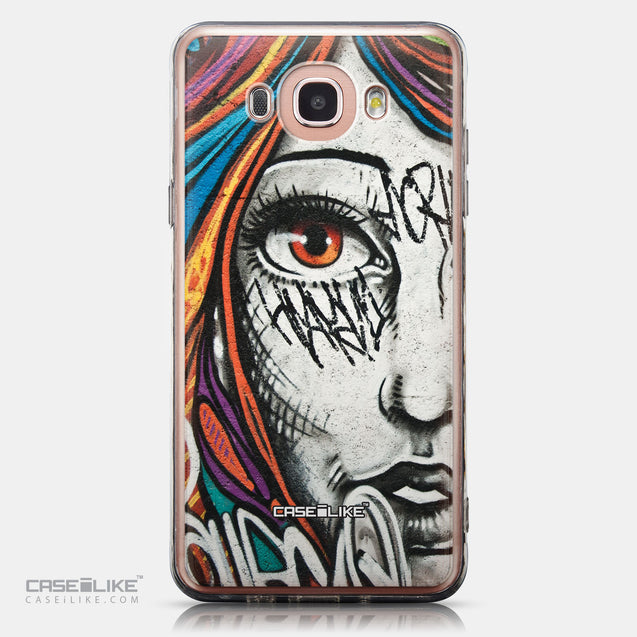 CASEiLIKE Samsung Galaxy J7 (2016) back cover Graffiti Girl 2724