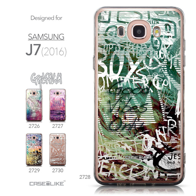 Collection - CASEiLIKE Samsung Galaxy J7 (2016) back cover Graffiti 2728