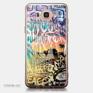 CASEiLIKE Samsung Galaxy J7 (2016) back cover Graffiti 2729