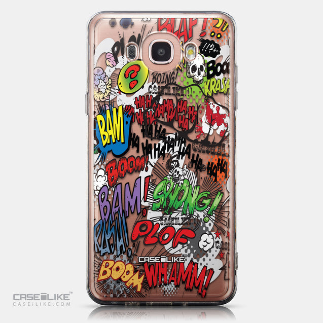 CASEiLIKE Samsung Galaxy J7 (2016) back cover Comic Captions 2914