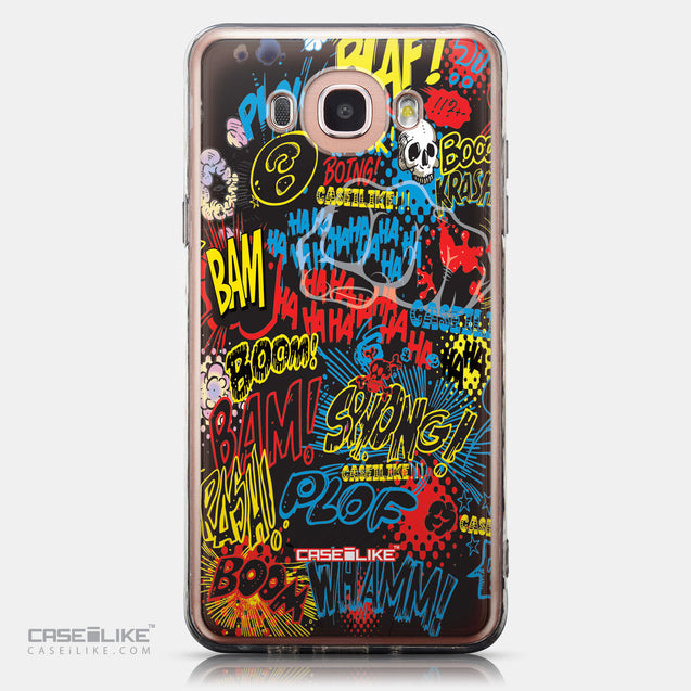 CASEiLIKE Samsung Galaxy J7 (2016) back cover Comic Captions Black 2915