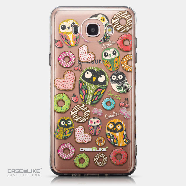 CASEiLIKE Samsung Galaxy J7 (2016) back cover Owl Graphic Design 3315
