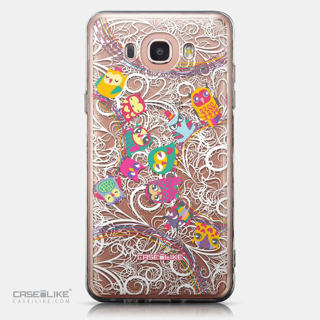 CASEiLIKE Samsung Galaxy J7 (2016) back cover Owl Graphic Design 3316