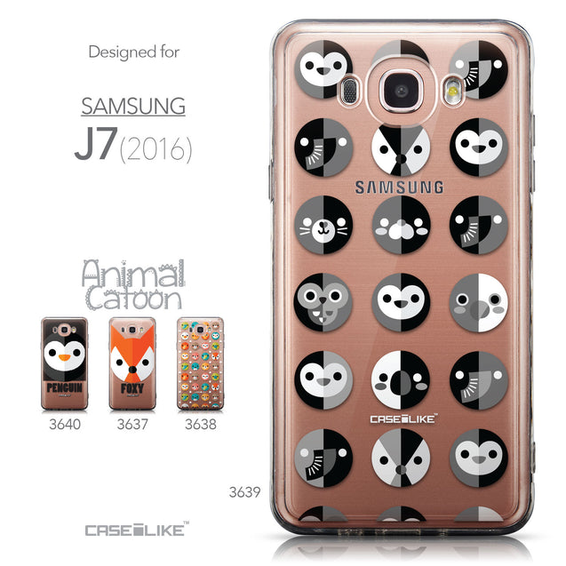 Collection - CASEiLIKE Samsung Galaxy J7 (2016) back cover Animal Cartoon 3639