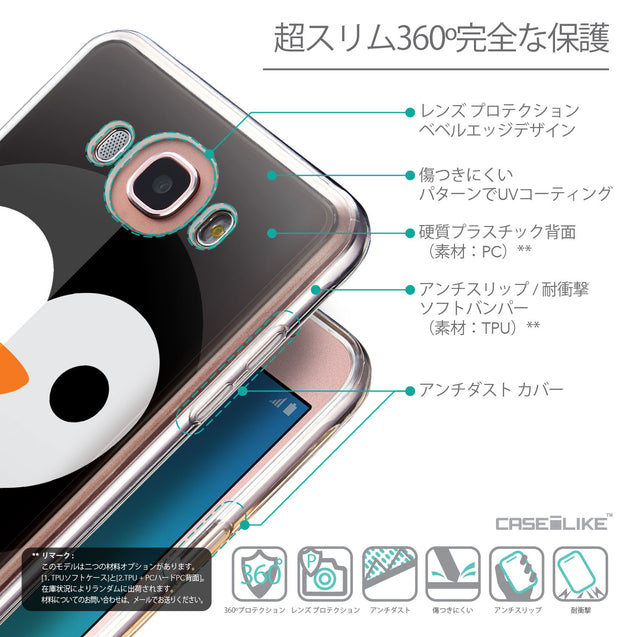 Details in Japanese - CASEiLIKE Samsung Galaxy J7 (2016) back cover Animal Cartoon 3640