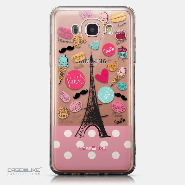 CASEiLIKE Samsung Galaxy J7 (2016) back cover Paris Holiday 3904