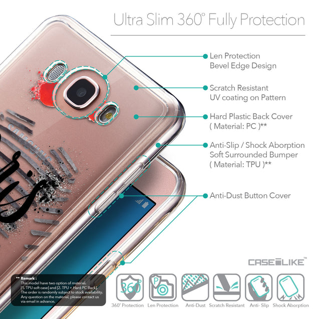 Details in English - CASEiLIKE Samsung Galaxy J7 (2016) back cover Paris Holiday 3909
