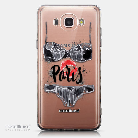 CASEiLIKE Samsung Galaxy J7 (2016) back cover Paris Holiday 3910