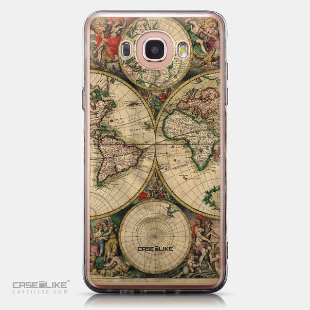 CASEiLIKE Samsung Galaxy J7 (2016) back cover World Map Vintage 4607