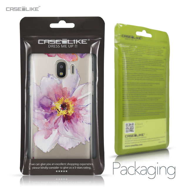 Samsung Galaxy J2 Pro (2018) case Watercolor Floral 2231 Retail Packaging | CASEiLIKE.com