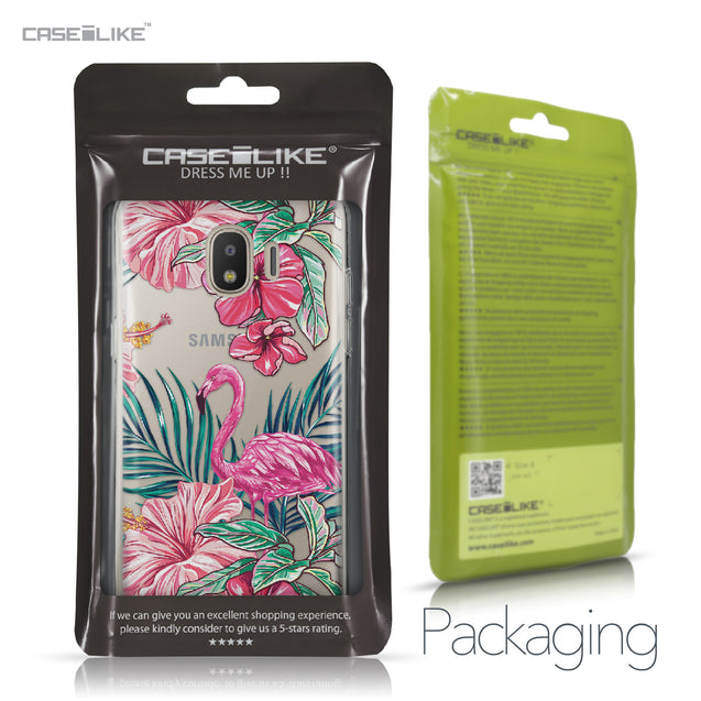 Samsung Galaxy J2 Pro (2018) case Tropical Flamingo 2239 Retail Packaging | CASEiLIKE.com