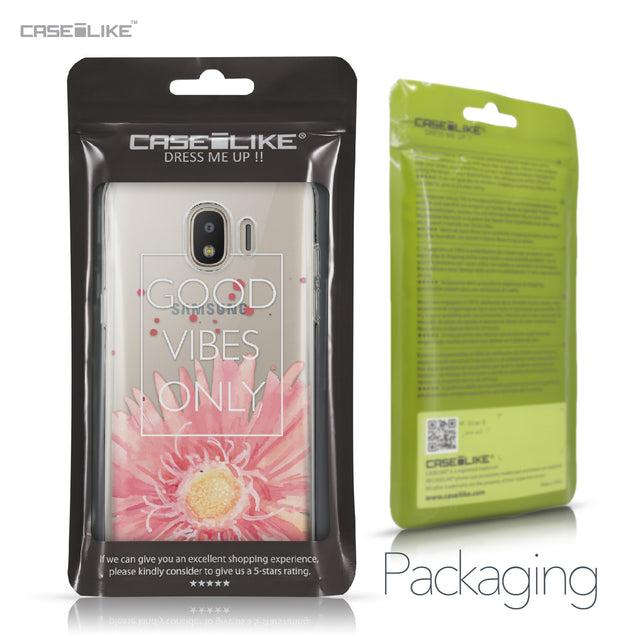 Samsung Galaxy J2 Pro (2018) case Gerbera 2258 Retail Packaging | CASEiLIKE.com