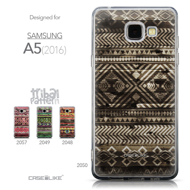 Collection - CASEiLIKE Samsung Galaxy A5 (2016) back cover Indian Tribal Theme Pattern 2050